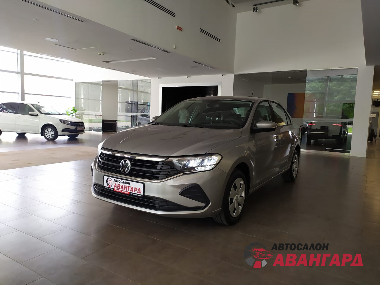 НОВЫЙ Volkswagen Polo New MPI 110 л.с. 6-АКП
