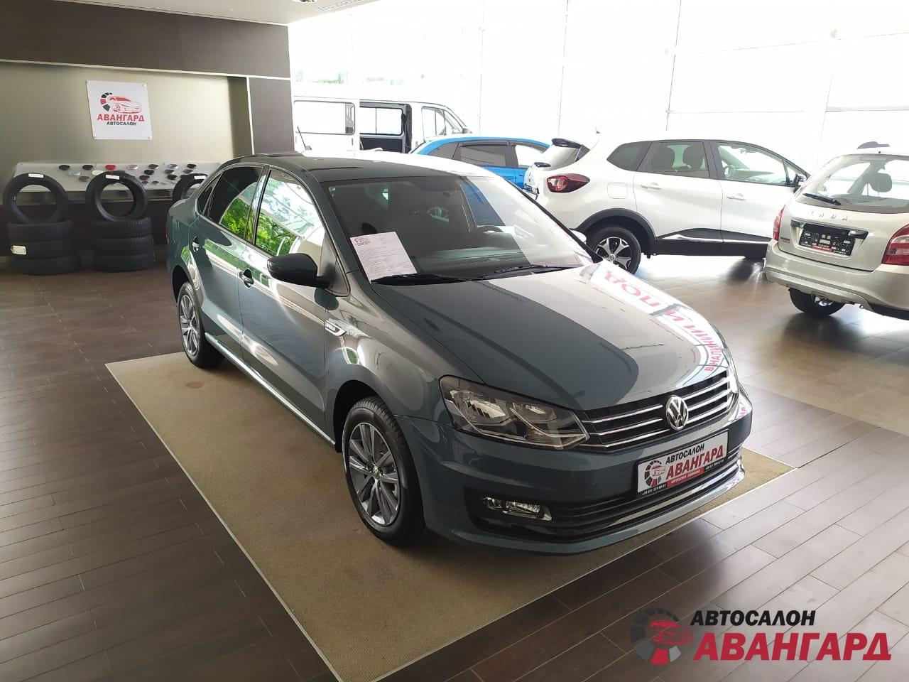 Volkswagen Polo (Фольксваген Поло) MPI 1.6 16кл. (110 л.с.) 6-АКП