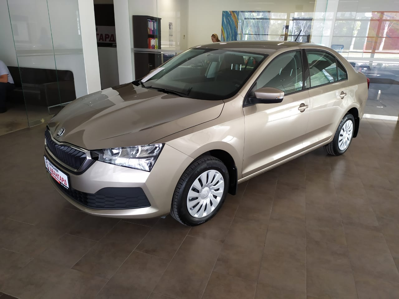 Skoda Rapid New 1.6 Active 6AT WF1 Bluetooth Бежевый 2020