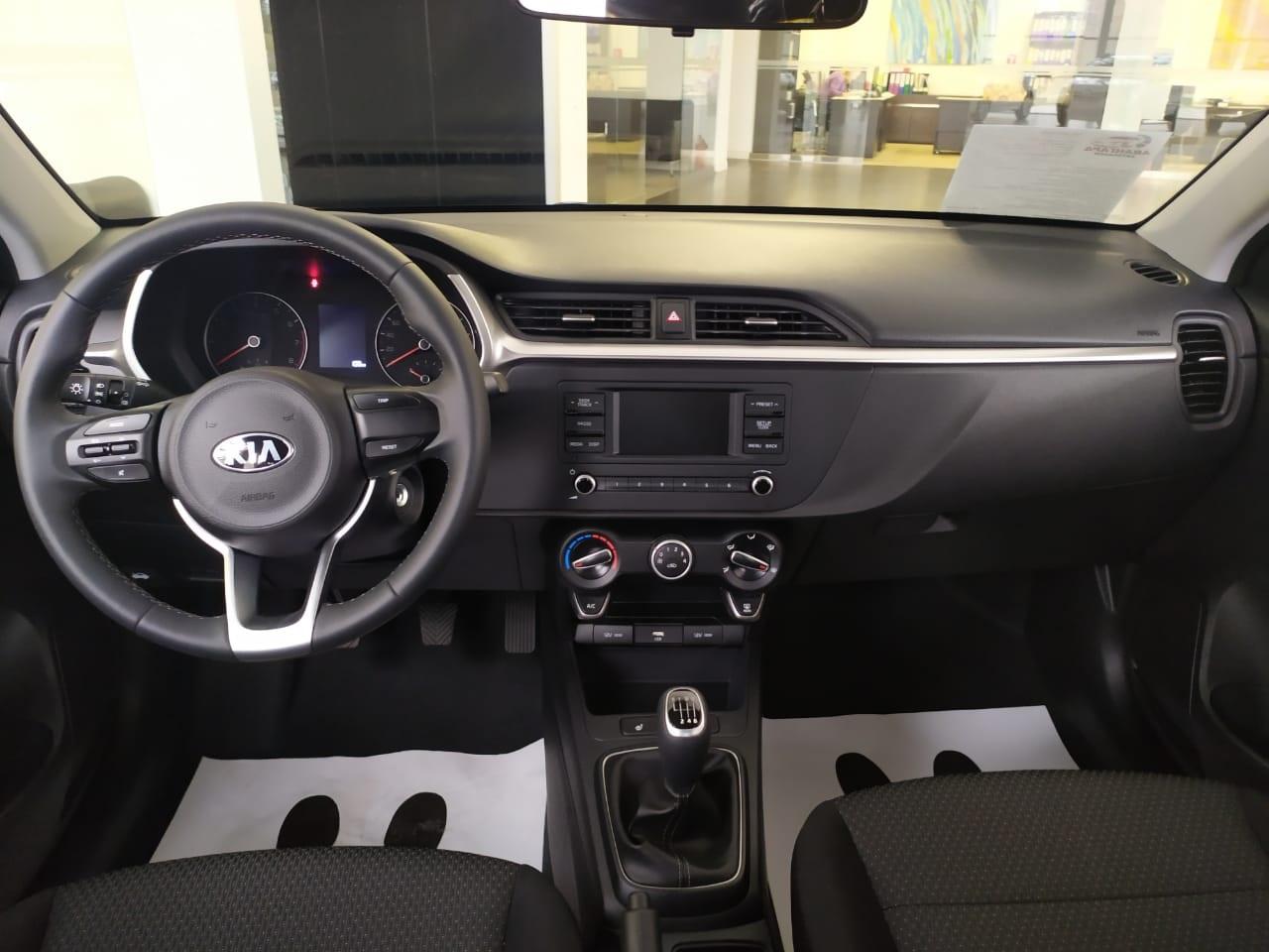 Kia Rio New Седан 1.6 л., 16-кл., (123 л.с.) 6МТ. Comfort 2020