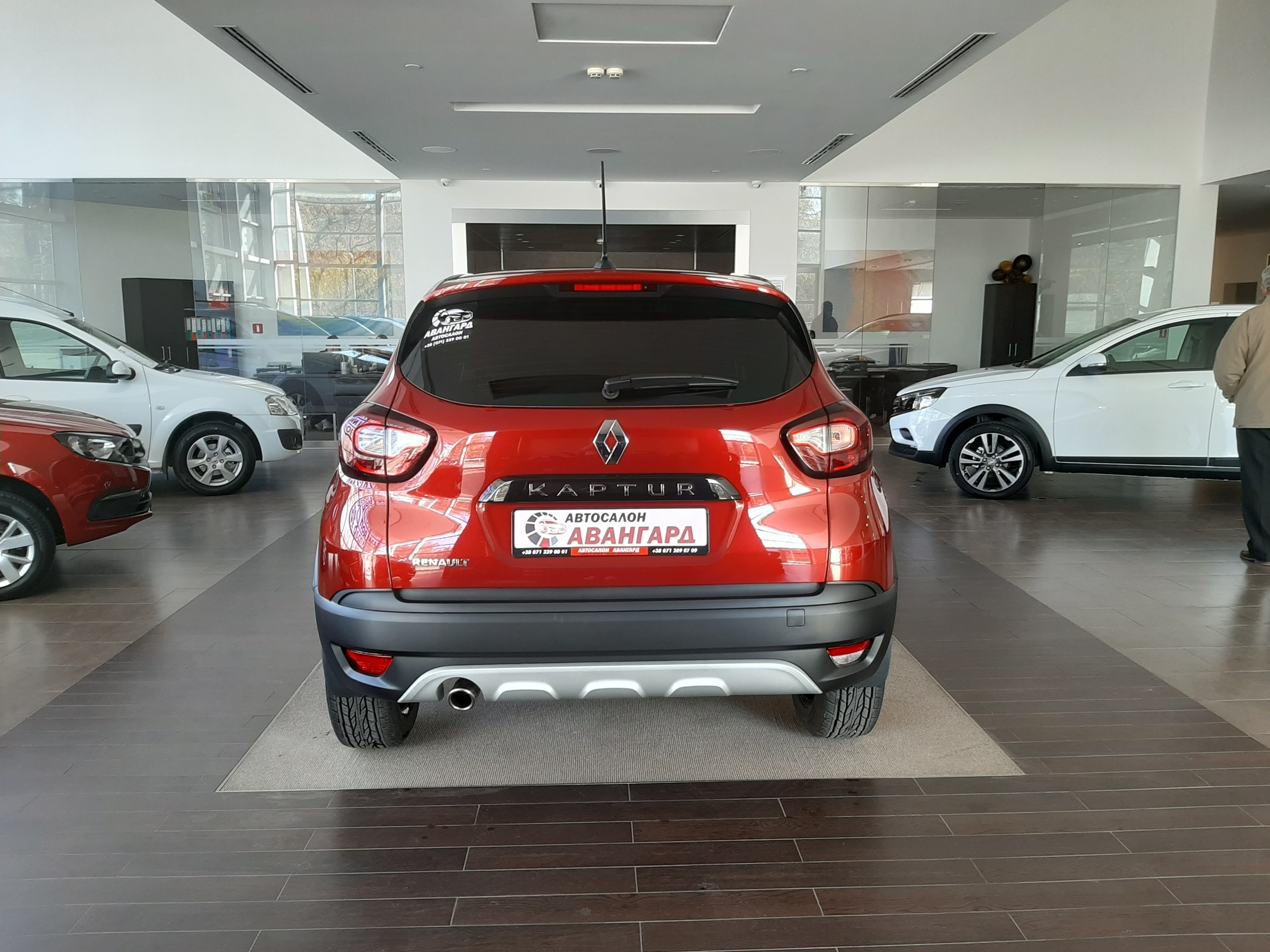 Renault Kaptur 1.6 16 кл. (114 л.с.) 4х2 CVT X-Tronic