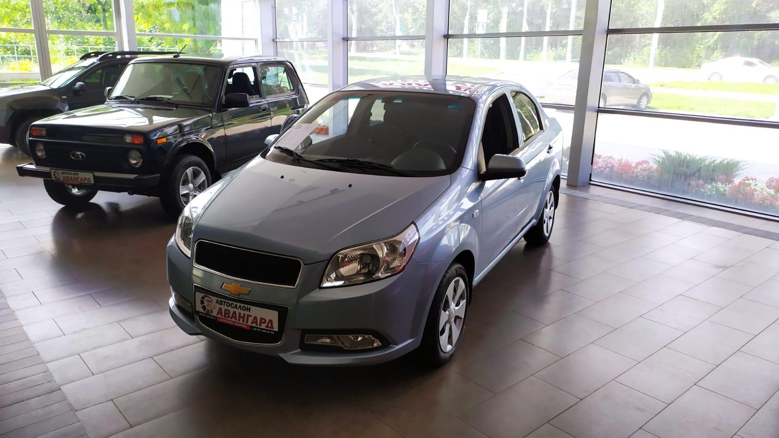 Chevrolet Nexia 1.5 16 кл. (105 л.с.) 6АТ комплектации LT, цвет голубой