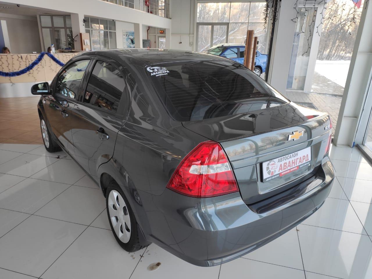 Chevrolet Nexia 1.5 16 кл. (105 л.с.) 5МТ комплектации LT, цвет серый