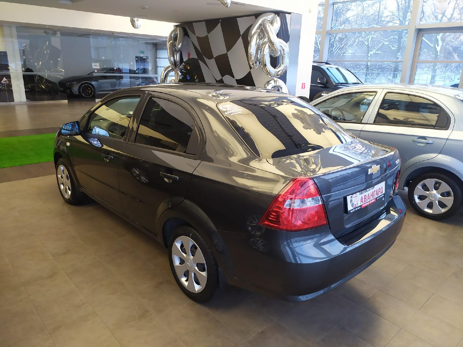 Chevrolet Nexia 1.5 16 кл. (105 л.с.) 6АТ комплектации LT, цвет серый графит
