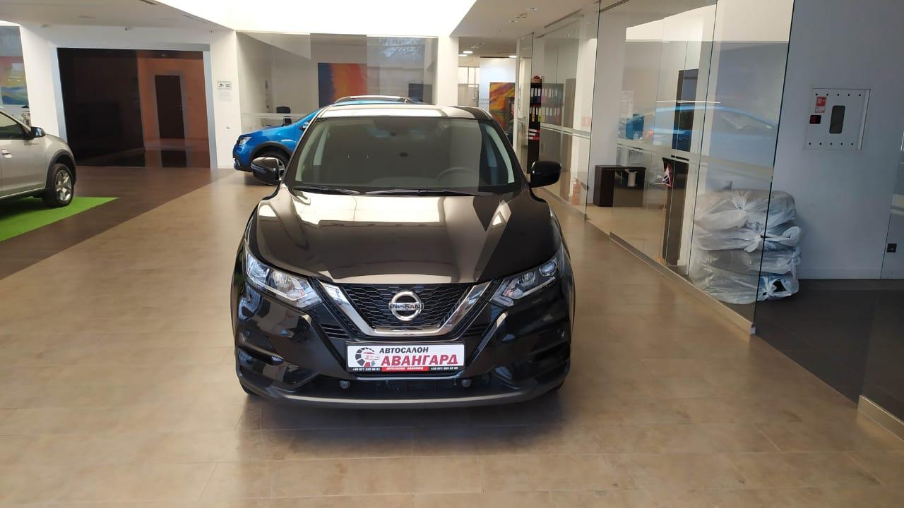 Nissan Qashqai (Ниссан Кашкай) Кроссовер 2.0 (144 л.с.) CVT SE. Черный