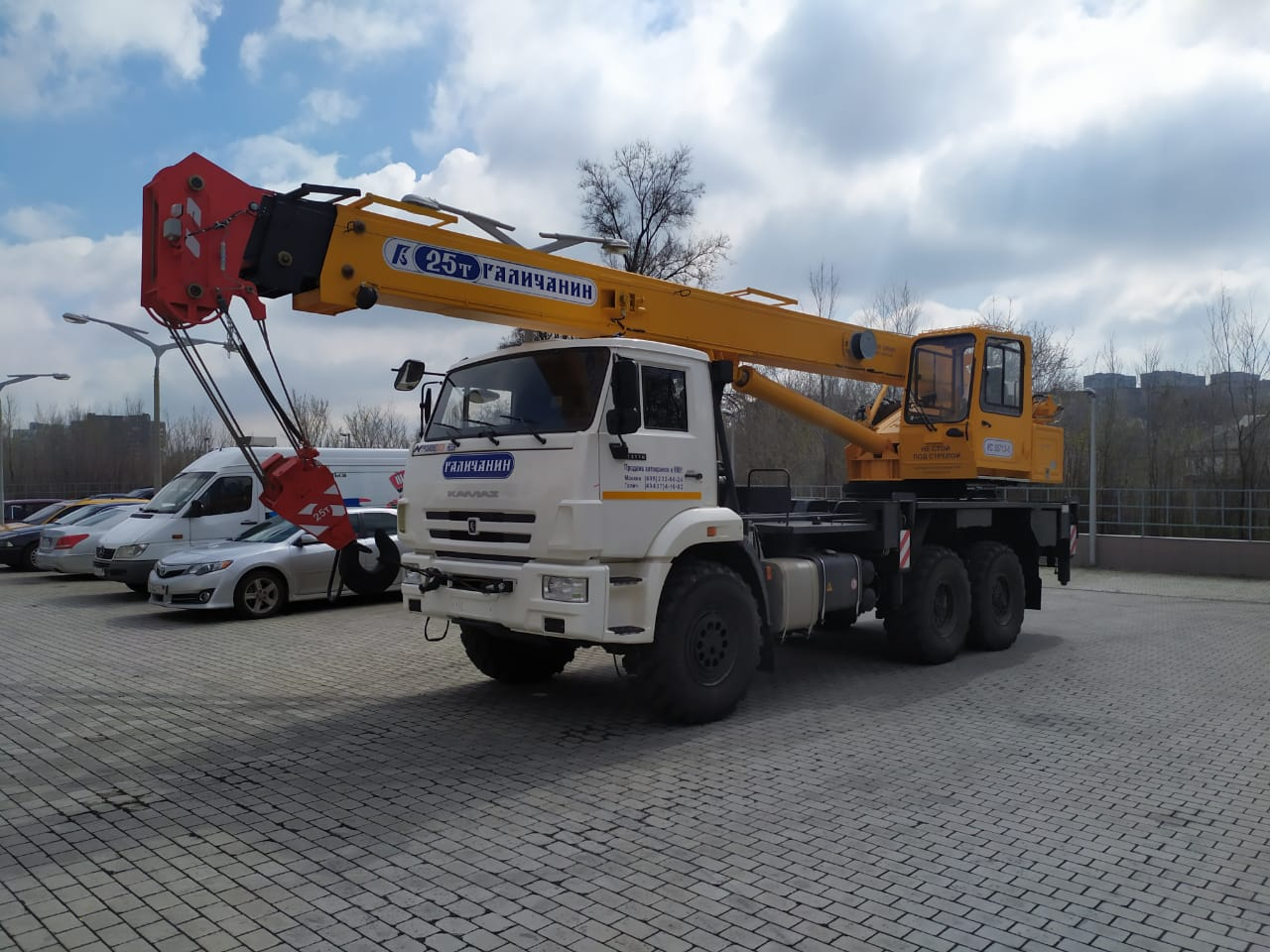 Автокран КС-55713-5, КАМАЗ-43118, 25т. 2021