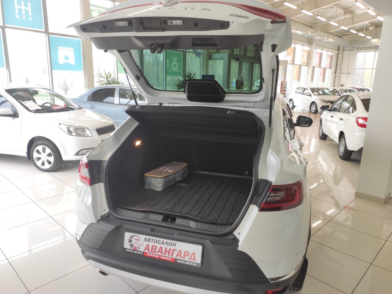 Renault ARKANA TCE 150 4×4 CVT X-Tronic, Pulse, Белый, 2021
