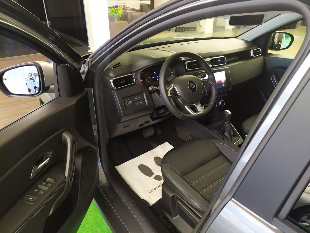 НОВЫЙ RENAULT DUSTER TCe 150 4×4 CVT X-Tronic, Style, Темно-серый металлик Dark Grey, 2021