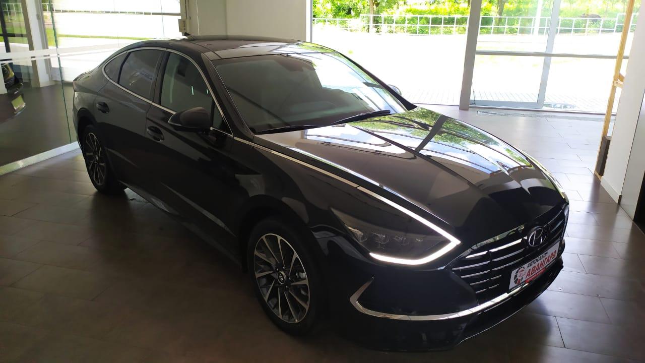 Hyundai SONATA 2.5 MPI (180 л.с.) 6АТ. Prestige. Чёрный. 2021