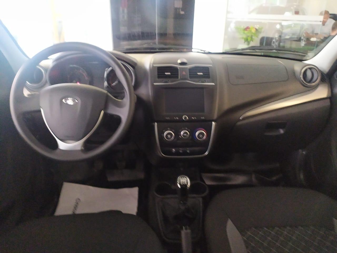 LADA Granta седан 1.6 л 16-кл. (106 л.с.), 5МТ, Luxe Prestige +Пакет EnjoY Pro, Серебристо-серый «Техно» 2021