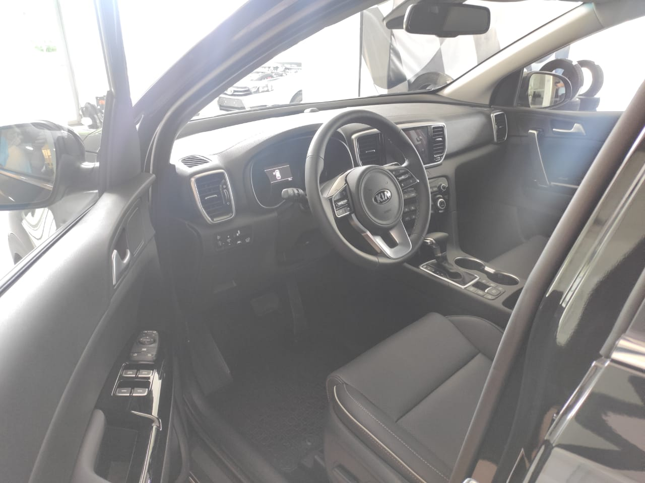 Kia Sportage 2.4 GDI., 184 л.c., бензин., Автомат 6AT., Полный 4WD., Premium Black Edition., 2021