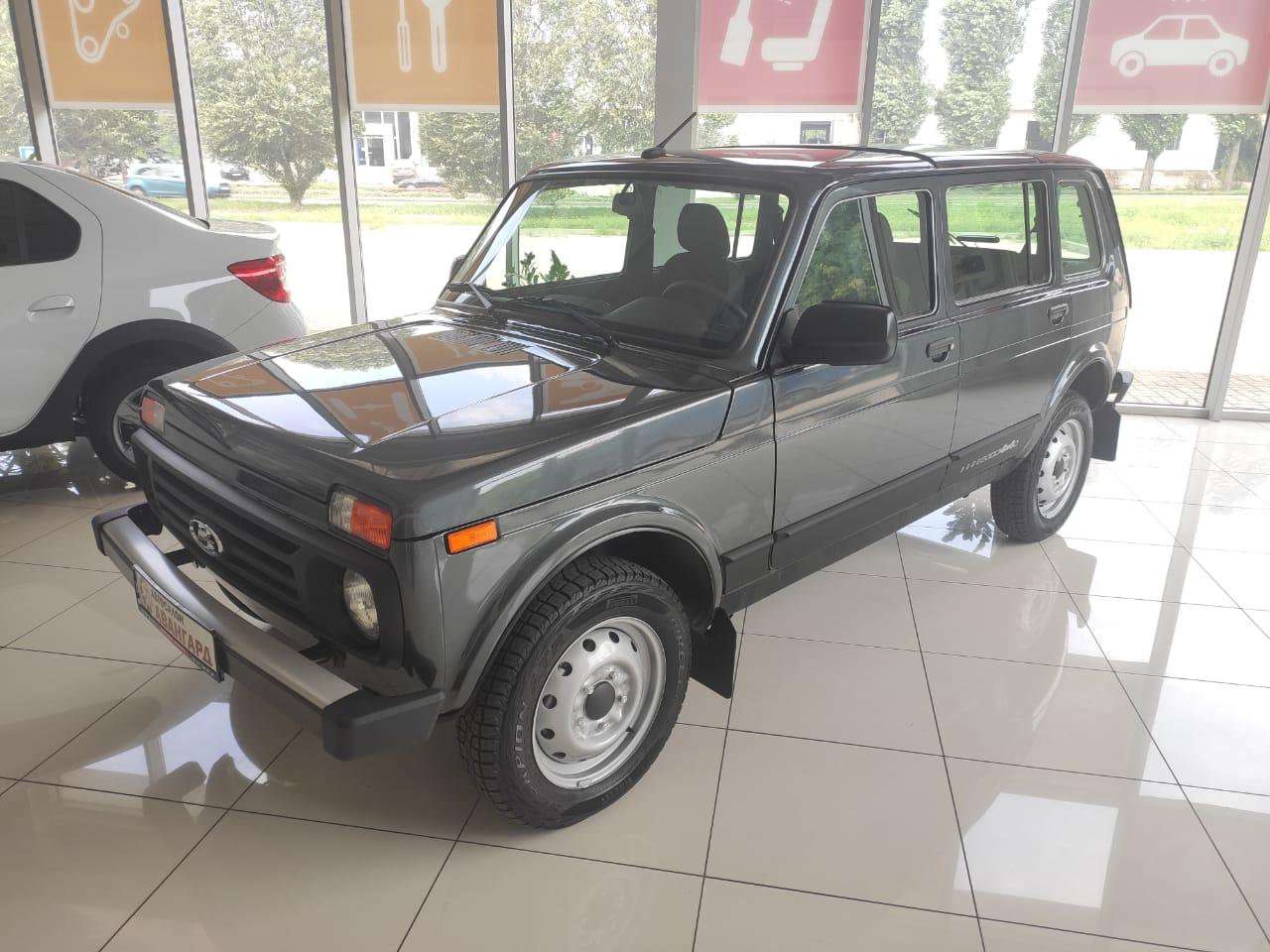 Lada Niva Legend 5 дв. 1.7 л 8 кл., 5МТ. Classic. Серый «Борнео». 2021