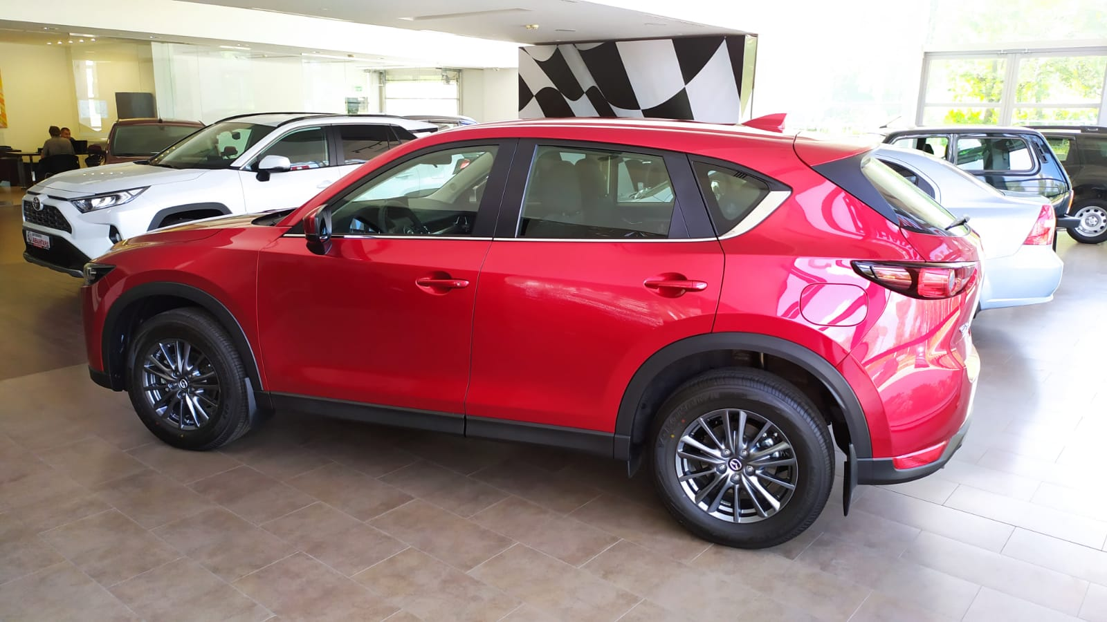 Mazda CX-5 2.0 150 л.с. 6АТ 4х4 Active, Красный, 2021