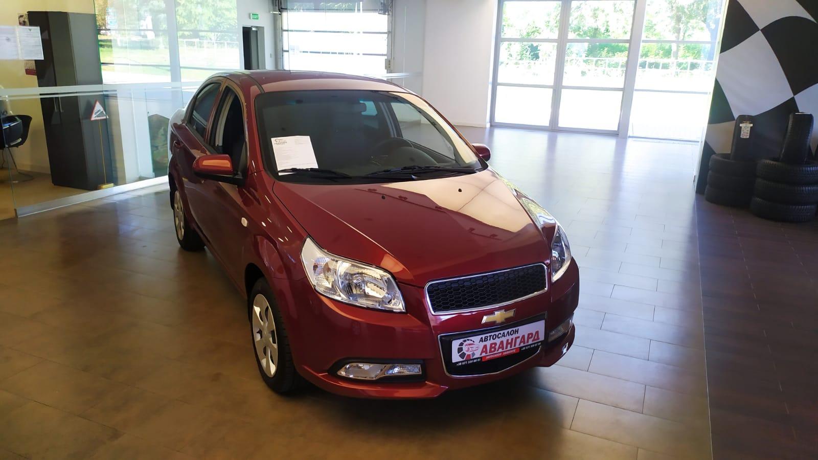 Chevrolet Nexia 1.5 16 кл. (105 л.с.) 6АТ, комплектации LT, Красный. 2021