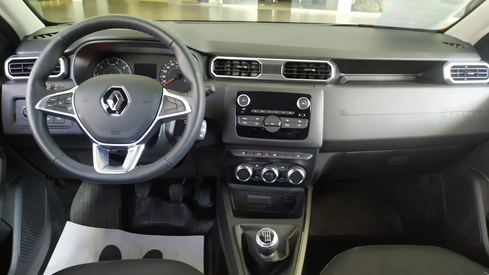 Renault Duster универсал. 1.6 л., 16-кл., (117л.с.) МКП6, 4х4, Drive. Белый 2021